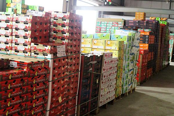 金泉果业冷藏室